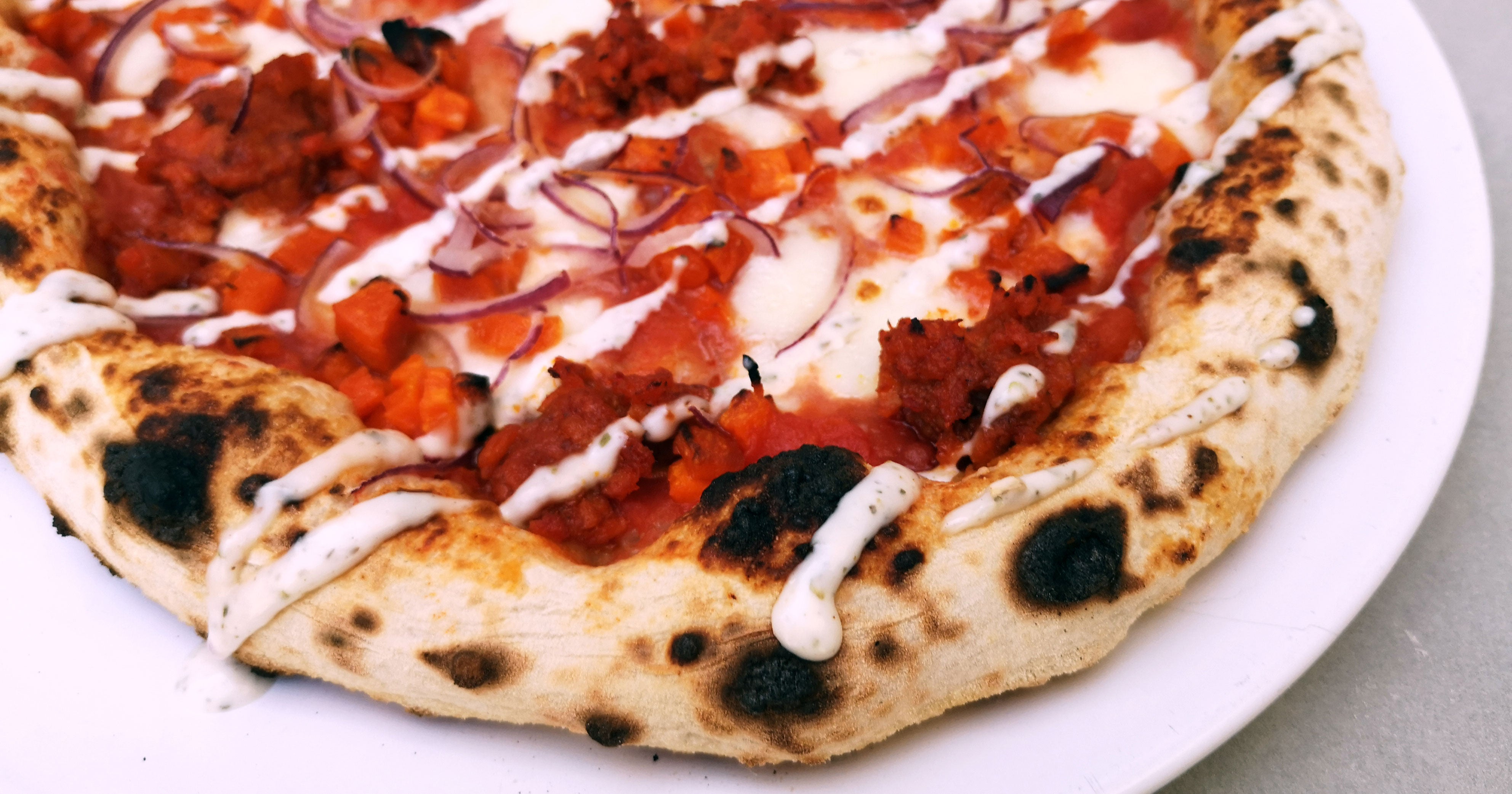 Vegetarian Nduja & Squash Pizza Featured Image