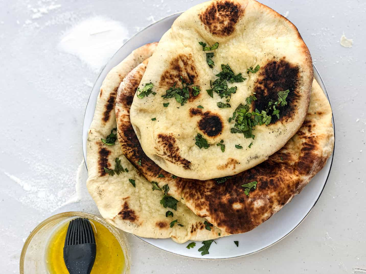 Sourdough Naan Featured Image