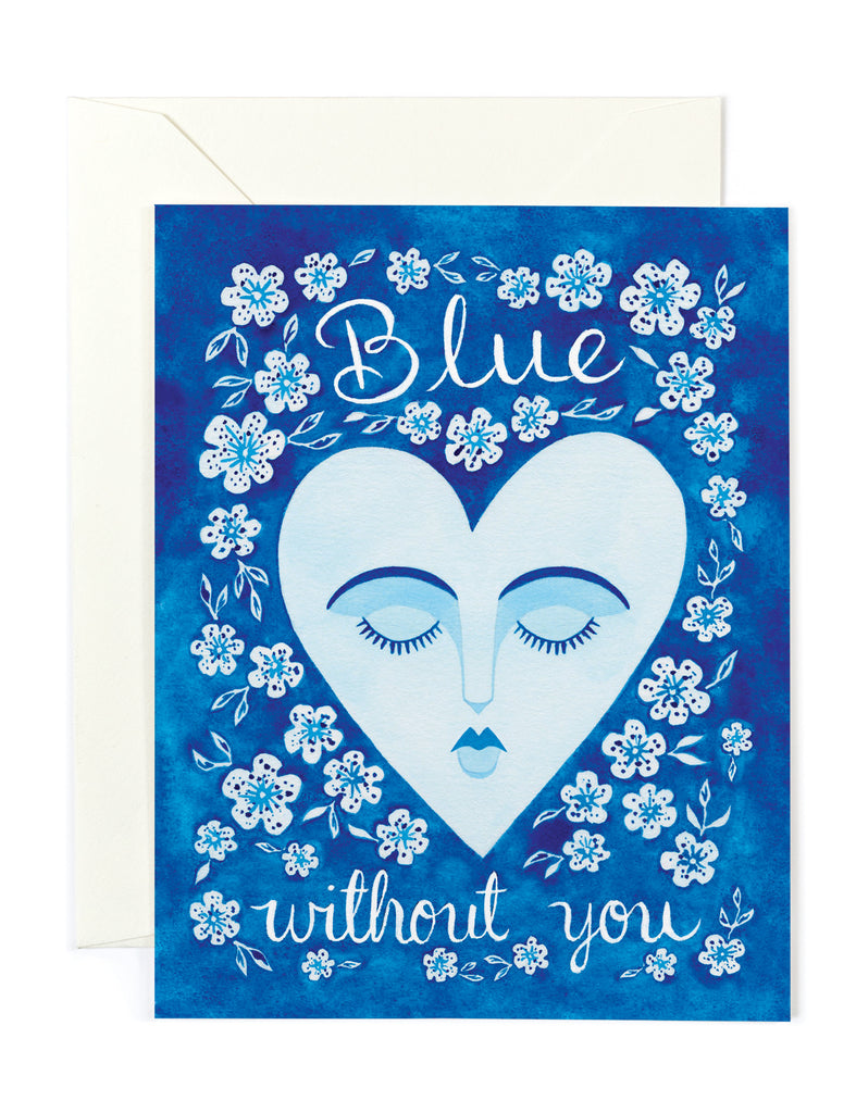 Blue without You Card