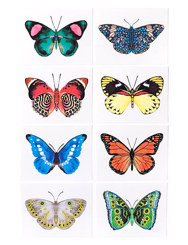 Assorted Butterfly Card Set