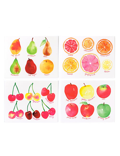 Assorted Fruit Card Set