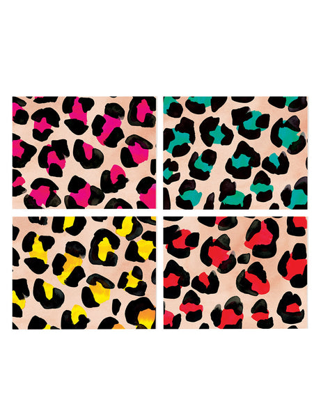 Assorted Leopard Card Set