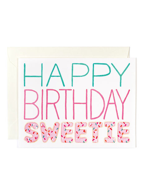 Happy Birthday Sweetie Card