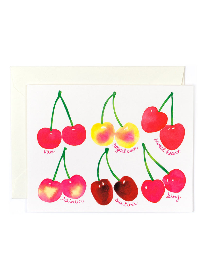 Cherry Fruit Card
