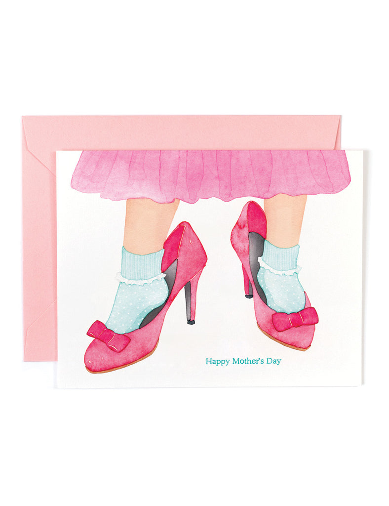 Mother's Day Shoes Card