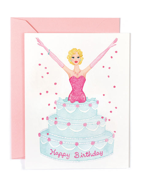 Birthday Glamour Card