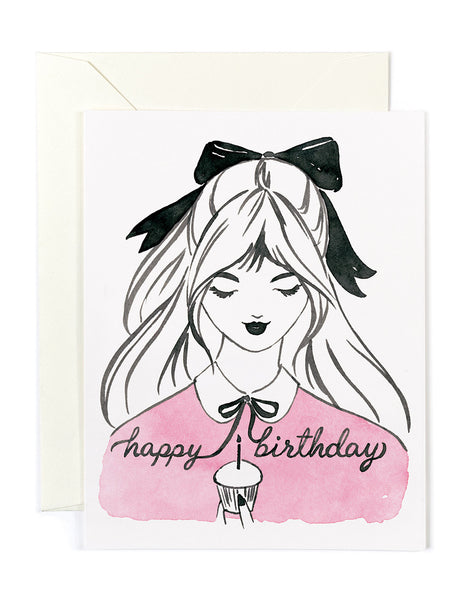 Happy Birthday Ribbon Card