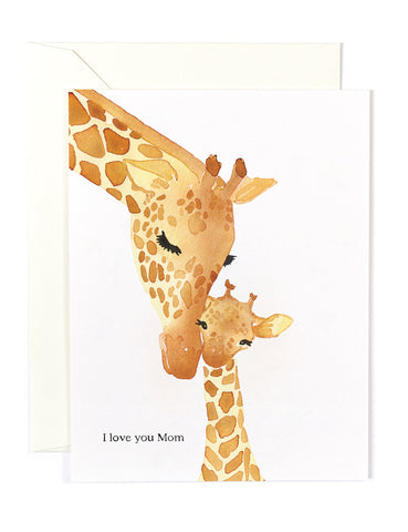 I love you Mom Card