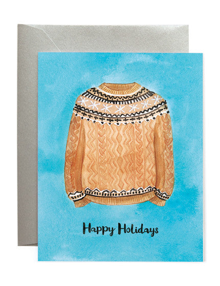 Cozy Sweater Card