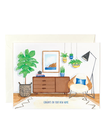Congrats New Home Boho Card