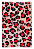 Red Leopard Gift Wrap