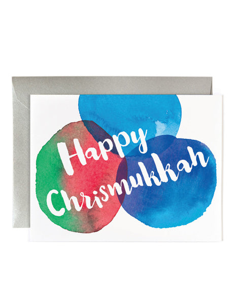Happy Chrismukkah Card
