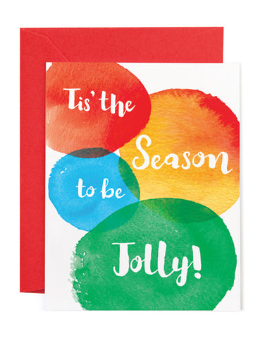 Jolly Season Holiday Card
