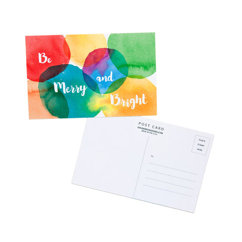 Be Merry and Bright Mini Postcard Set