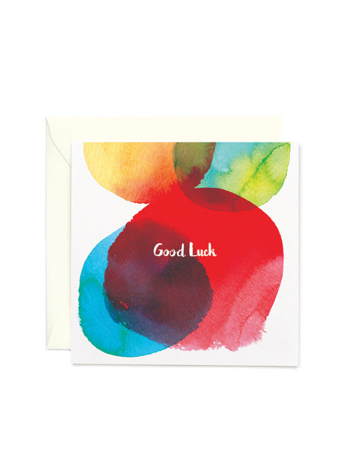 Good Luck Square Card