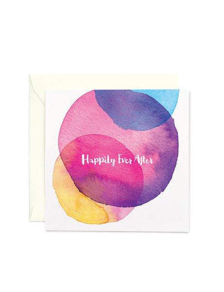 Happily Ever After Square Card