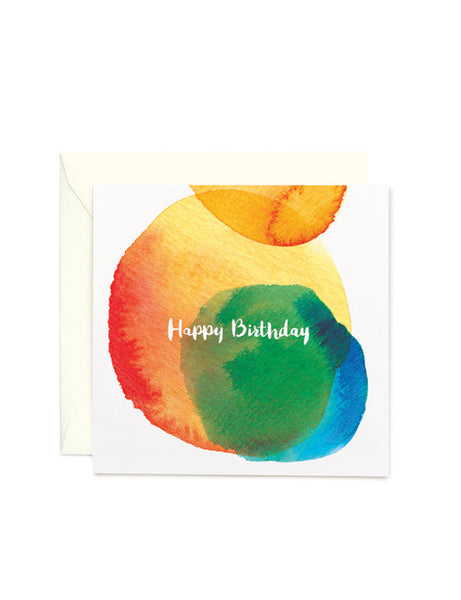 Happy Birthday Square Card