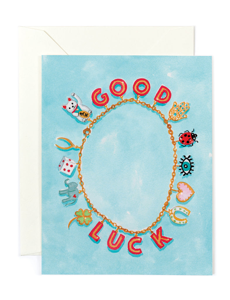 Good Luck Charms Card
