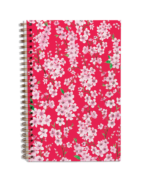 Blossom Crimson Notebook