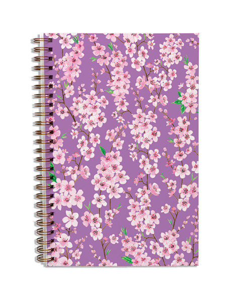 Blossom Violet Notebook