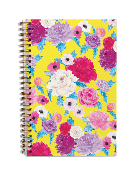 Happy Floral Notebook
