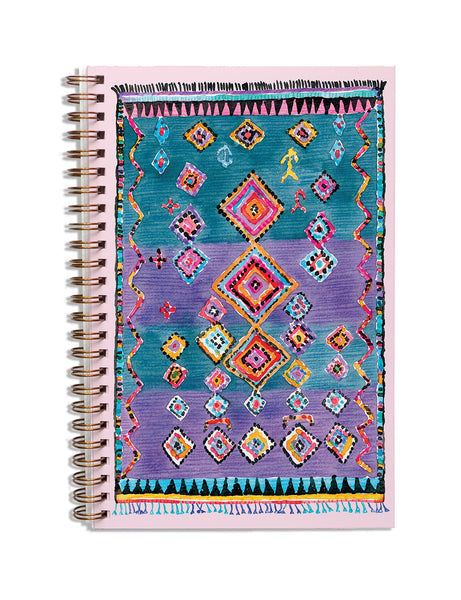 Marrakesh Lilac Notebook