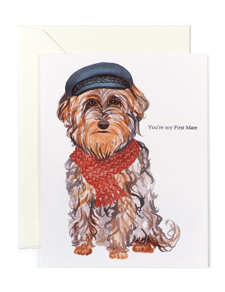 You're My First Mate Card
