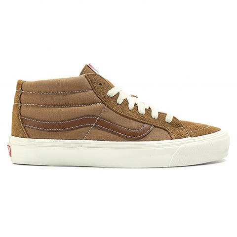 VANS VAULT OG SK8-Mid LX Suede (Tobacco Brown/Monks Robe)