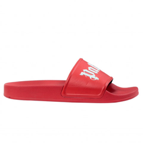 PALM ANGELS Pool Slides (Red)