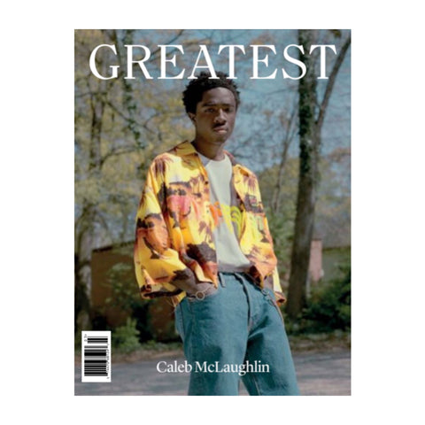 GREATEST Magazine Issue 03 (Caleb McLaughlin Cover)