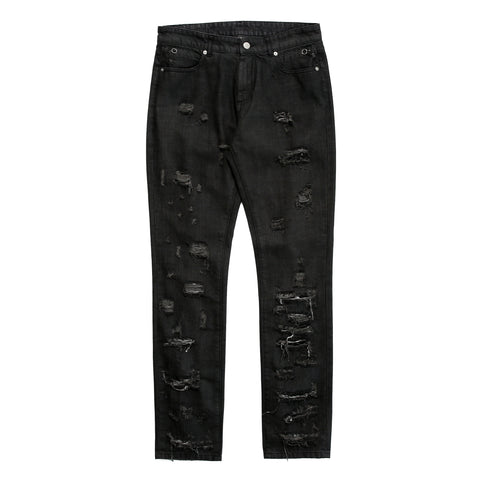 1017 ALYX 9SM 5 Pocket Distressed Denim (Black)