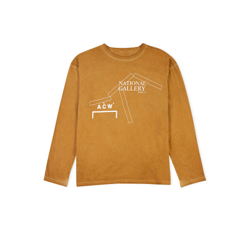A-COLD-WALL* National Gallery Long-Sleeve Tee (Rust)