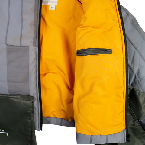 A-COLD-WALL* Puffer Coat with Detachable Pocket (Slate)