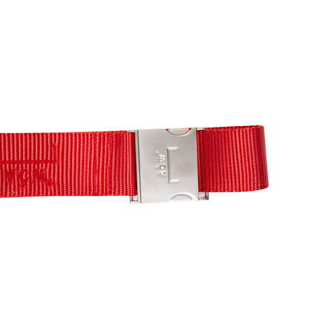 A-COLD-WALL* Industrial Webbing Belt (Red)