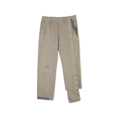 A-COLD-WALL* Dyed Canvas Pants (Pale Forest Green)