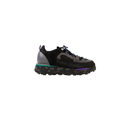 ACNE STUDIOS Berton Mixed Sneaker (Multi Black)