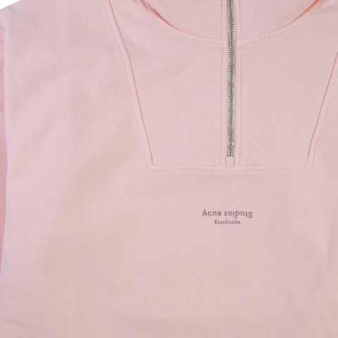 ACNE STUDIOS Faraz Stamp Sweater (Dusty Pink)
