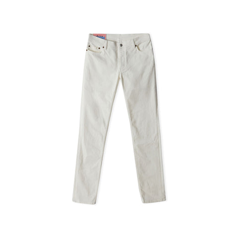 ACNE STUDIOS Blå Konst North Jean (White)