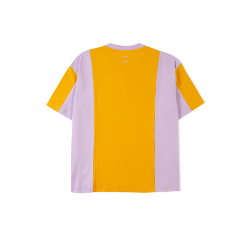 ACNE STUDIOS Eban Contrasting Panel Tee (Honey Yellow)