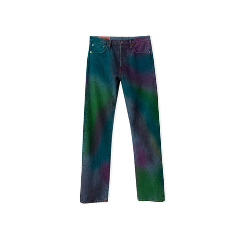ACNE STUDIOS Blå Konst 1996 Jean (Rainbow Spray)