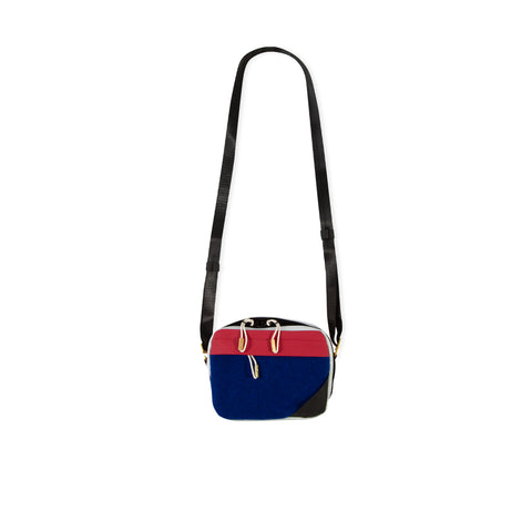 ACNE STUDIOS Blå Konst Hidey Bag (Blue/Red)