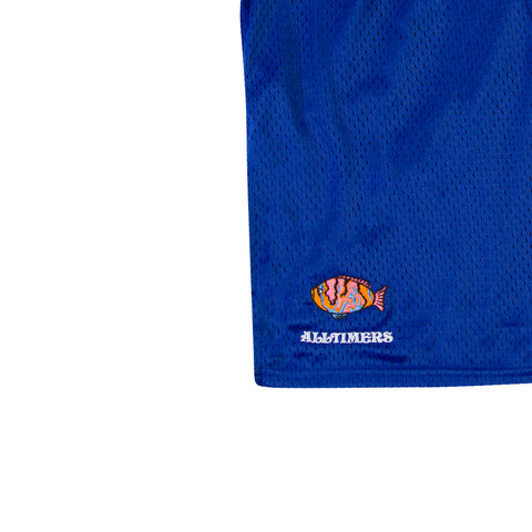 ALLTIMERS Champion Deep Sea Shorts (Surf The Web Blue)