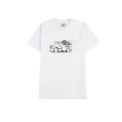 ALLTIMERS Top Down Tee (White)
