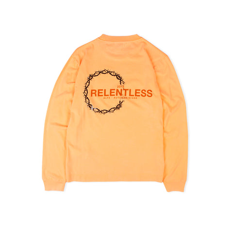 1017 ALYX 9SM Relentless Collection LS Tee (Orange)