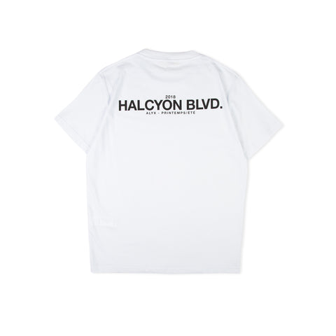 1017 ALYX 9SM Halycon Blvd Tee (White)