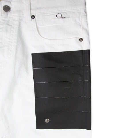 1017 ALYX 9SM Taped Jeans (White)