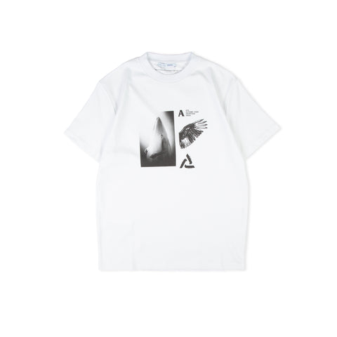1017 ALYX 9SM Wings Graphic Block Tee (White)