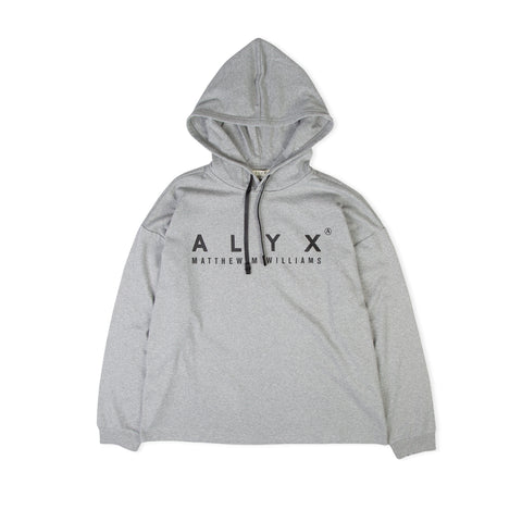 1017 ALYX 9SM Hooded LS Tee (Gray)