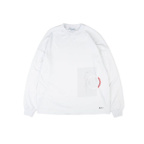 1017 ALYX 9SM Dancing Girl LS Tee (White)