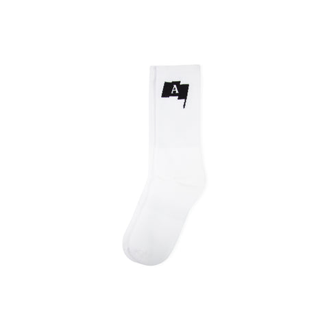 1017 ALYX 9SM Flag Socks (White)